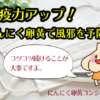 にんにく卵黄と風邪・インフル予防