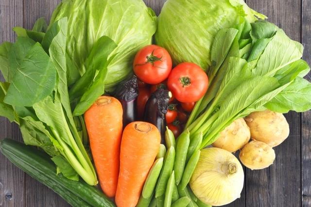 免疫に良い緑黄色野菜