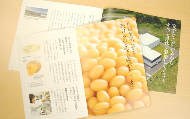 てまひま堂にんにく卵黄の小冊子