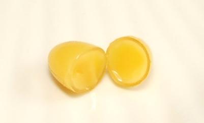 伝承にんにく卵黄の充填率